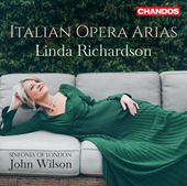 Album artwork for Linda Richardson: Italian Opera Arias