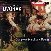 Album artwork for Dvorak: COMPLETE SYMPHONIC POEMS