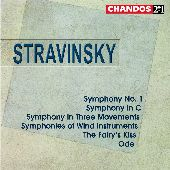 Album artwork for Stravinsky: SYMPHONIES, FAIRY'S KISS