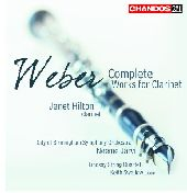 Album artwork for Weber: Complete Works for Clarinet / Hilton