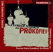 Album artwork for Prokofiev: Cello Concertos & Sonatas (Ivashkin)