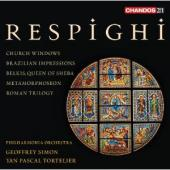 Album artwork for Respighi: Orchestral Works / Simon