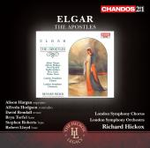 Album artwork for Elgar: The Apostles / Hickox