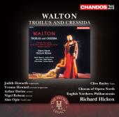 Album artwork for Walton: Troilus and Cressida / Hickox