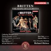 Album artwork for Britten: The Rape of Lucretia / Hickox