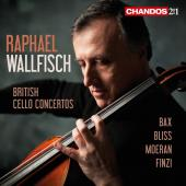 Album artwork for British Cello Concertos / Wallfisch