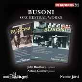 Album artwork for Busoni: Orchestral Works
