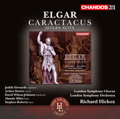 Album artwork for Elgar: Caractacus, Op. 35 & Severn Suite, Op. 87