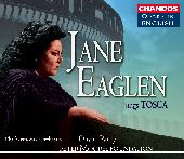 Album artwork for JANE EAGLEN SINGS TOSCA