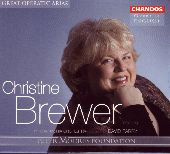 Album artwork for CHRISTINE BREWER: GREAT OPERATIC ARIAS
