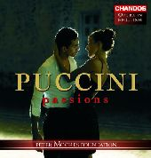 Album artwork for PUCCINI PASSIONS - HOPE AND LOSS