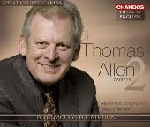 Album artwork for Thomas Allen: Great Operatic Arias, Volume 19