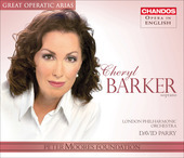 Album artwork for Cheryl Barker - Soprano, Great Operatic Arias