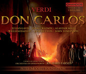 Album artwork for Verdi - Don Carlos (English) / Farnes