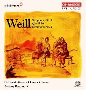 Album artwork for WEILL - SYMPHONIES 1 AND 2 ETC.