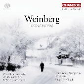 Album artwork for Weinberg: Concertos (Svedlund)