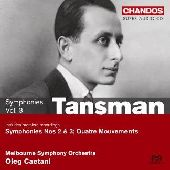 Album artwork for Tansman: Symphonie Nos. 2 & 3 (Caetani)