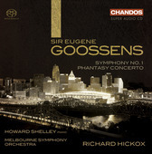 Album artwork for Goossens: Symphony No. 1, Phantasy Concerto