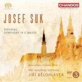 Album artwork for Josef Suk: Ripening, Symphony No. 1 / Belohlavek