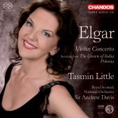Album artwork for Elgar: Violin Concerto (Little)