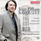 Album artwork for Bavouzet plays Ravel, Debussy, Massenet