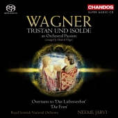 Album artwork for Wagner Transcriptions: Vol. 3 / Neeme Jarvi