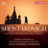 Album artwork for Shostakovich: Cello Concertos Nos 1 and 2