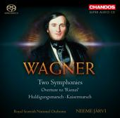 Album artwork for Wagner: Two Symphonies / Jarvi