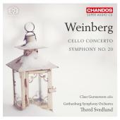 Album artwork for Weinberg: Cello Concerto, Symphony 20