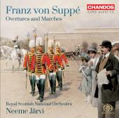 Album artwork for Suppe: Overtures and Marches / Jarvi