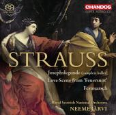Album artwork for Strauss: Josephslegende, Scene from Feuersnot