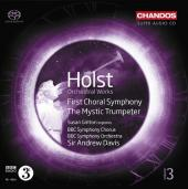 Album artwork for Holst: Mystic Trumpeter, First Choral Symphony