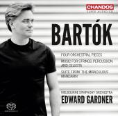 Album artwork for Bartok: Miraculous Mandarin, Music for Strings / G