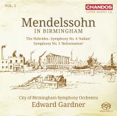 Album artwork for Mendelssohn in Birmingham / Gardner, CBSO