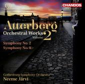 Album artwork for Atterberg: Orchestral Works vol.2