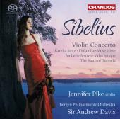 Album artwork for Sibelius: Violin Concerto / Pike, Davis