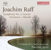 Album artwork for Raff: Symphony #5 ' Lenore', Overtures / Jarvi