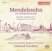 Album artwork for Mendlessohn in Birmingham vol.2 / Gardner