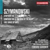 Album artwork for Szymanowski: Orchestral Works, Vol. 3