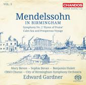 Album artwork for Mendelssohn in Birmingham vol.3 / Gardner