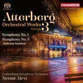 Album artwork for ATTERBERG: ORCHESTRAL WORKS, VOL. 3