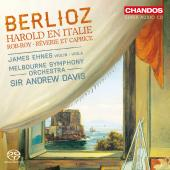 Album artwork for BERLOZ: HAROLD IN ITALY (EHNES)