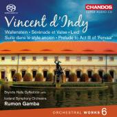 Album artwork for VINCENT D'ANDY: ORCHESTRAL WORKS VOL. 6
