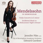 Album artwork for Mendelssohn in Birmingham, Vol. 4 / Pike, Gardner