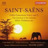 Album artwork for Saint-Saëns: Cello Concertos Nos. 1 & 2, etc.