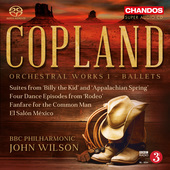 Album artwork for Copland: Orchestral Works, Vol. 1 - Ballets