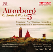 Album artwork for Atterberg: Orchestral Works, Vol. 5