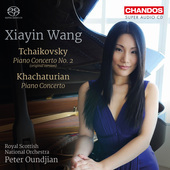Album artwork for Tchaikovsky: Piano Concerto No. 2 - Khachaturian: