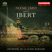 Album artwork for Neeme Järvi Conducts Ibert