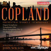 Album artwork for Copland: Orchestral Works, Vol. 2 (Symphonies)